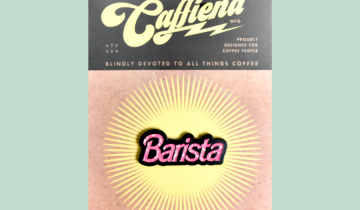 Pin barista – Barbie